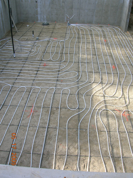 basement Radiant Heat